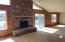 9250 Trout Pl, Gleneden Beach, OR 97388 - Rockwall fireplace