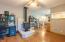 88046 Riverview Ave, Mapleton, OR 97453 - Living Room/Woodstove