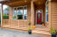 205 SW Shining Mist, Depoe Bay, OR 97341 - Front porch