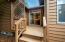 205 SW Shining Mist, Depoe Bay, OR 97341 - Side deck off kitchen