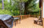 205 SW Shining Mist, Depoe Bay, OR 97341 - Back deck from dining area end