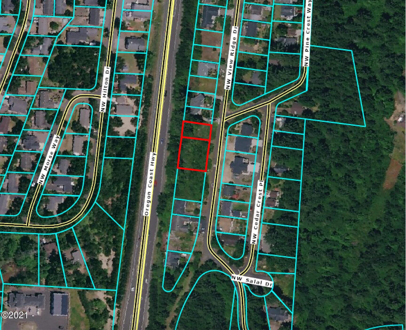 1902/1822 NW View Ridge Drive, Waldport, OR 97394 - Plat Map