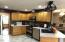 235 NE Evergreen Ln, Yachats, OR 97498 - Living Room and Gas stove