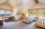 2724 N Three Rocks Rd, Otis, OR 97368 - Upper Level Bonus room w/View