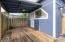 1870 SE 3rd St, Lincoln City, OR 97367 - Covered deck off studio