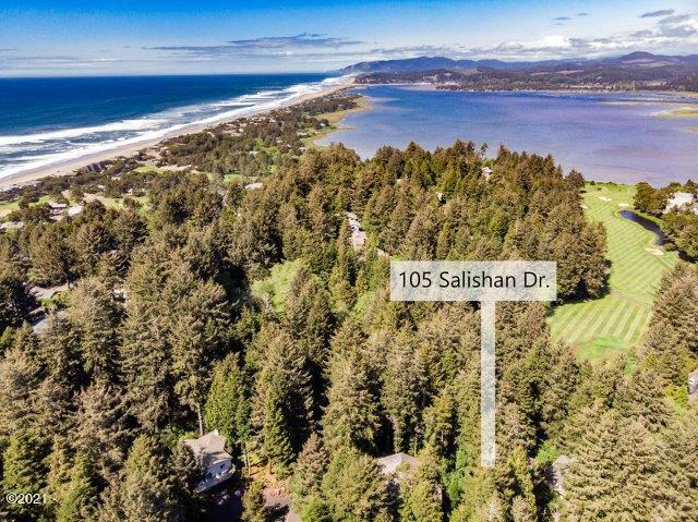 105 Salishan Dr, Gleneden Beach, OR 97388 - Arial