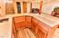 211 NE San-bay-o Cir, Newport, OR 97365 - Sink and Cupboards