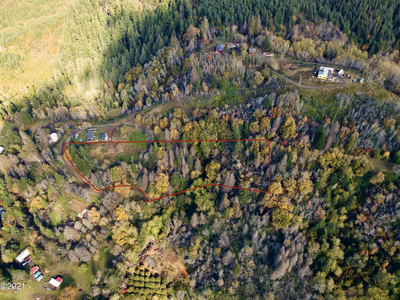 290 N Echo Mountain Rd, Otis, OR 97368 - Aerial