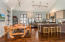 Kitchen/Dining flow into the great room for ease of entertaining