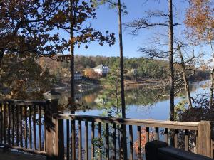 Gorgeous views of open water near Chimney Rock and The Ridge Marina