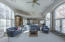 Second Family room with large projector movie theater and surround sound!