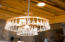 Each light fixture was selected for it's function and beauty