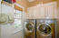 Main level Laundry room - there is a laundry on the terrace level also