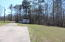 view down driveway to street