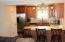 granite counters, large pantry