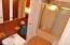 Main bath between second and third bedrooms.