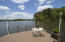 Large Dock Offers Ample Room for Dining Lakeside