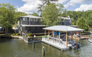 New boat house with covered slip
