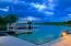 What a view! Enjoy summer evenings on your great docks!