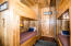 Custom Made Bunkbeds with two closets & drawers