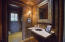Half Bath off the Den/Kitchen/Wet bar