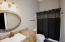 Attached guesthouse bathroom