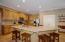 Beautiful open kitchen with granite countertops