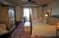 Master bedroom - view to screened porch/lake