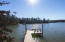 Enjoy year-round deep water at your dock/floating dock!