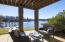 Spacious walk-out patio on the terrace level for lakeside entertaining