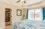 Ensuite Master with trey ceiling and inviting views