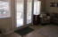 French doors that lead out onto the screened porch area.