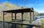 boathouse, covered deck and screened porch