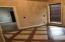 Unique tile and wood foyer