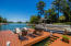 Full sun, peaceful, access to the Lake for swimming and boating