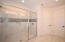 Large shower and master closet