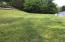 Large yard for future fire pit etc