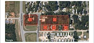 Overview of Veterans Parkway - 5 parcels of land