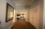 hallway to the guest bedroom