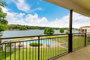 Expansive views of Blue Creek near Singleton Marine enjoyed from the living/dining areas & master suite