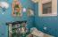 Main level powder room