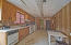 Spacious kitchen. Sold as-is, where-is.