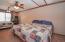 HUGE guest bedroom on the upper level