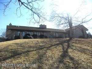 Rear View of Home/Lodge overlooking 105 ACRES