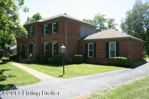 Large two story home with rear entry garage
