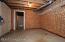 Cedar lined storage in lower level.