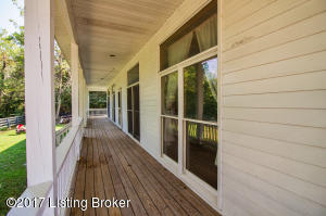 360 wrap around porch with paddocks views