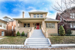 Beautifully Updated Bungalow in the Historic District of Old Louisville
