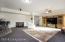 Basement family room/rec area