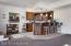 Basement kitchenette/bar area